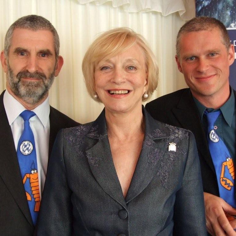 Baroness Wilcox, Patron of National Lobster Hatchery